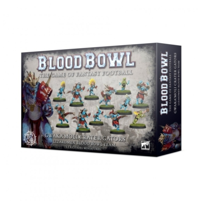 Blood Bowl: Gwaka'moli Crater Gators - Lizardmen csapat
