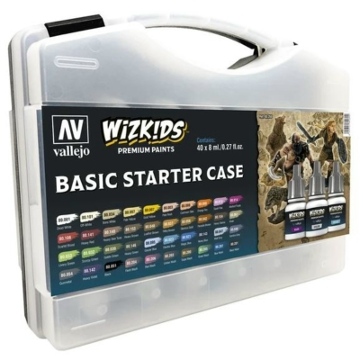 Wizkids Premium set by Vallejo: Basic Starter Case