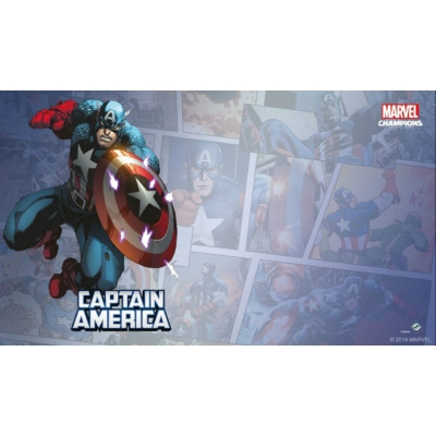 Marvel Champions: Captain America Game Mat