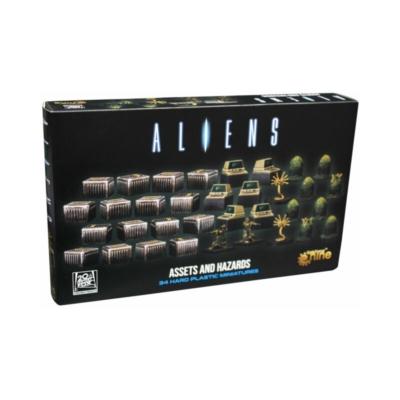 Aliens: Assets & Hazards 3D Gaming Set