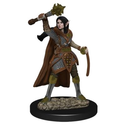 D&D Icons: Elf Female Cleric Premium Prepainted Miniature