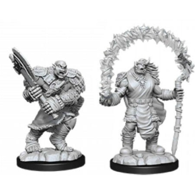 D&D Nolzur's Marvelous Miniatures: Orc Adventurers