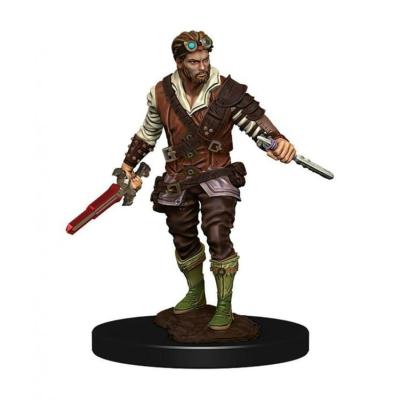 D&D Icons: Human Male Rogue Premium Prepainted Miniature