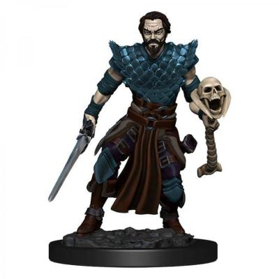 D&D Icons: Human Male Warlock Premium Prepainted Miniature