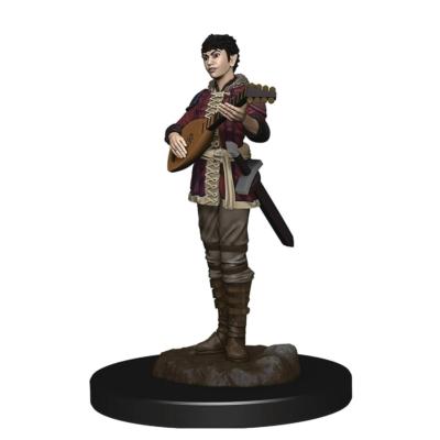 D&D Icons: Half-Elf Female Bard Premium Prepainted Miniature