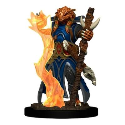 D&D Icons: Dragonborn Female Sorcerer Premium Prepainted Miniature