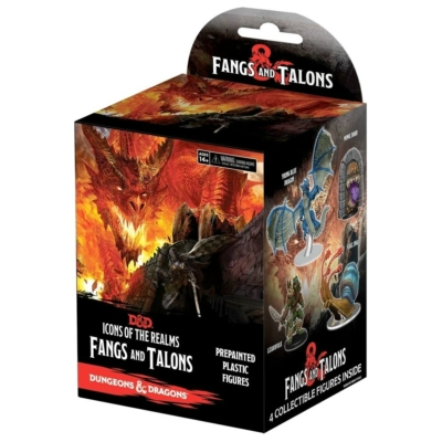 Dungeons & Dragons Miniatures: Fangs & Talons Booster