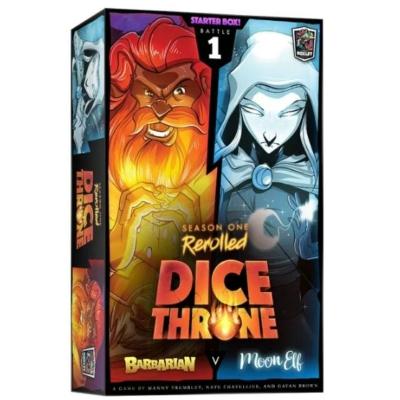 Dice Throne: Season 1 ReRolled - Barbarian v. Moon Elf