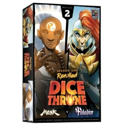 Dice Throne: Season 1 ReRolled - Monk v. Paladin