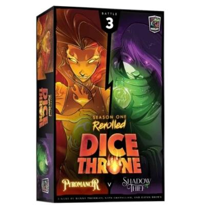 Dice Throne: Season 1 ReRolled - Pyromancer v. Shadow Thief