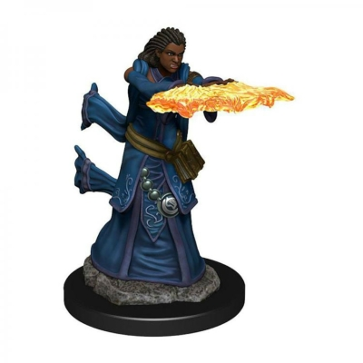 D&D Icons: Human Female Wizard Premium Prepainted Miniature