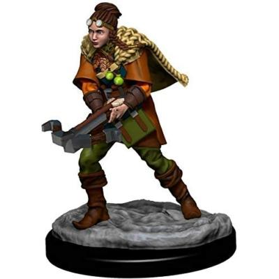 D&D Icons: Human Female Ranger Premium Prepainted Miniature