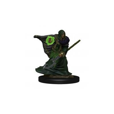 D&D Icons: Elf Male Druid Premium Prepainted Miniature
