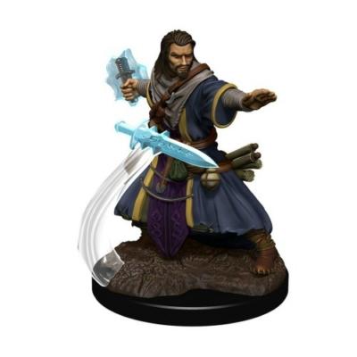 D&D Icons: Human Male Wizard Premium Prepainted Miniature
