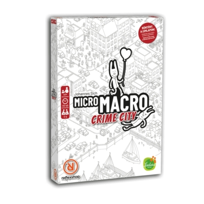 MicroMacro: Crime City - magyar kiadás