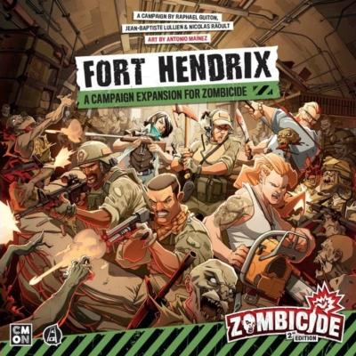 Zombicide 2nd Edition: Fort Hendrix kiegészítő
