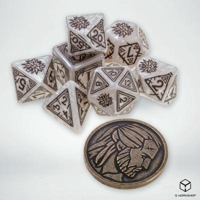 Dobókocka készlet, Witcher: Geralt - The White Wolf