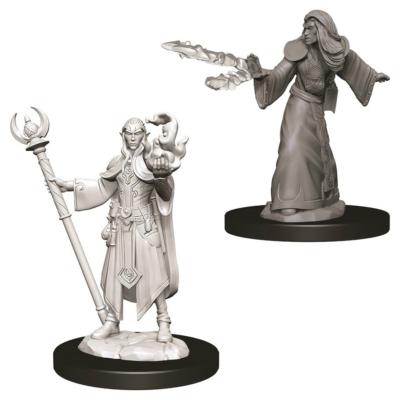 D&D Nolzur's Marvelous Miniatures: Elf Wizard Male Wave 12
