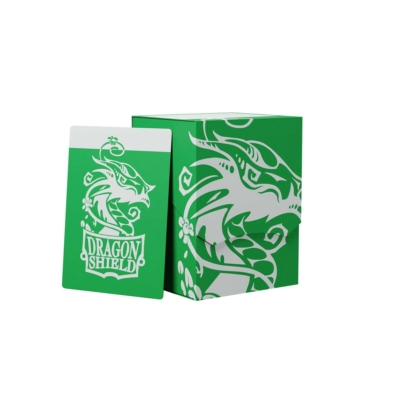Dragon Shield: Deck Shell: 100+ Zöld/Fekete
