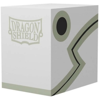 Dragon Shield: Double Deck Shell: 150+ Fehér/Fekete