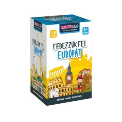 Memorace - Fedezzük fel Európát!