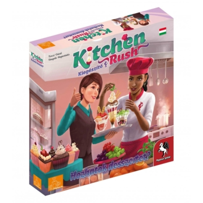 Kitchen Rush kiegészítő - Hozhatok desszertet?