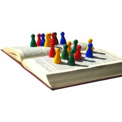Társasjáték bábu (különböző színekben)
