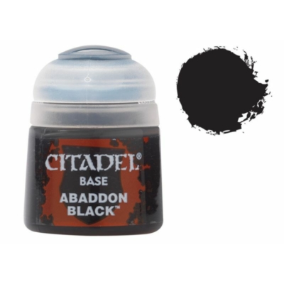 Citadel Base: Abaddon Black