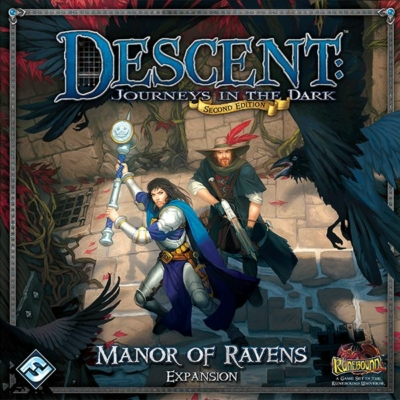 Descent 2nd Edition - Manor of Ravens kiegészítő