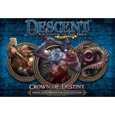 Descent 2nd edition - Crown of Destiny kiegészítő