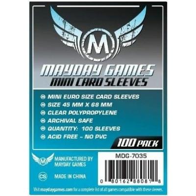 Mayday mini EU kártyavédő (sleeve) - 45*68 mm (100 db/csomag)