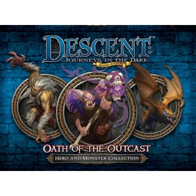 Descent 2nd Edition - Oath of the Outcast kiegészítő