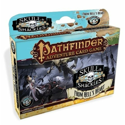 Pathfinder Adventure Card Game: Skull and Shackles 6 - From Hell's Heart Adventure Deck