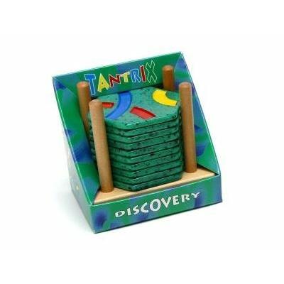 Tantrix Felfedező - állványos, zöld lapokkal