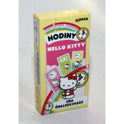 Hello Kitty - Óraleolvasás kártya játék