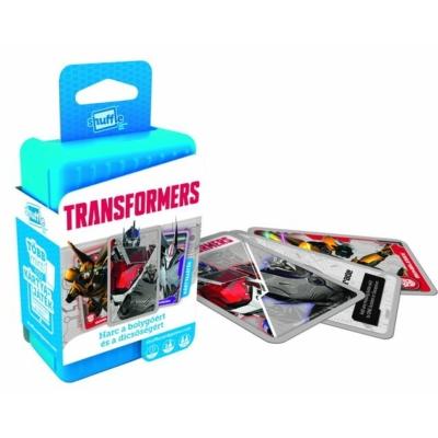 Shuffle -Transformers Harc a bolygóért és a dicsőségért -kártyajáték