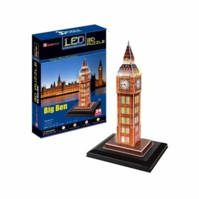 3D-puzzle világítós Big Ben 28db-os