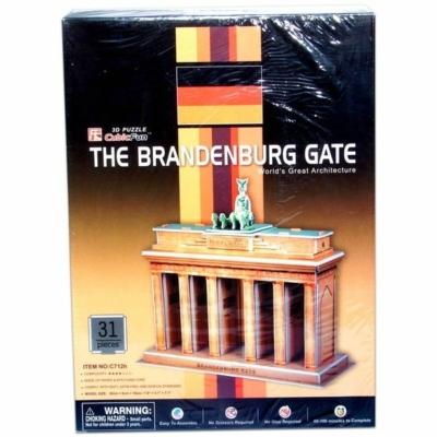 3D-puzzle Brandenburgi kapu 31db-os