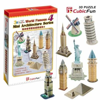 3D puzzle - Mini építészeti sorozat 4.