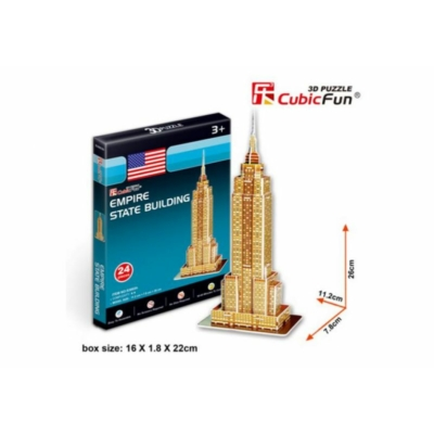 3D puzzle - Empire State Building 24 db-os