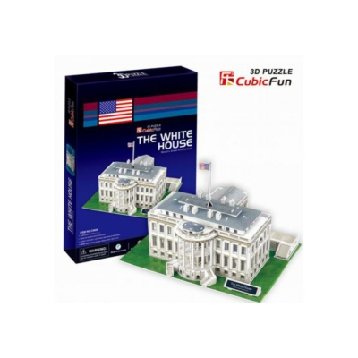 3D-puzzle- The White House 64 db-os