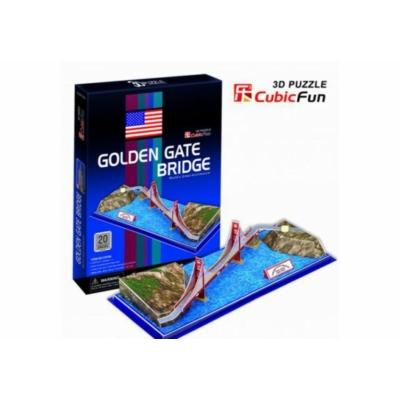 3D-puzzle Golden Gate Bridge 20 db-os