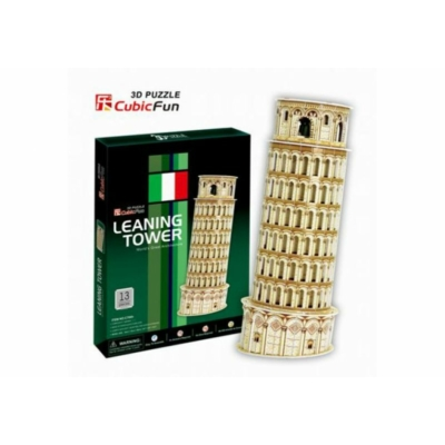3D-puzzle Pisa Tower 13db-os
