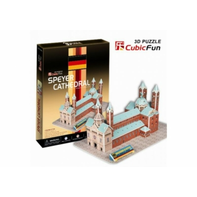 3D-puzzle Speyer Cathedral 41 db-os