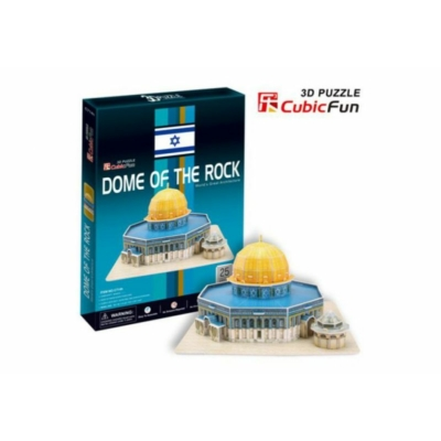 3D-puzzle Dome of the rock 25 db-os