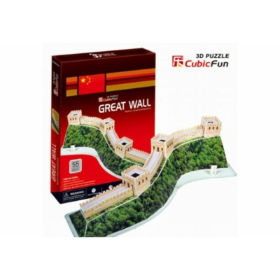 3D puzzle - The Great Wall 55 db-os