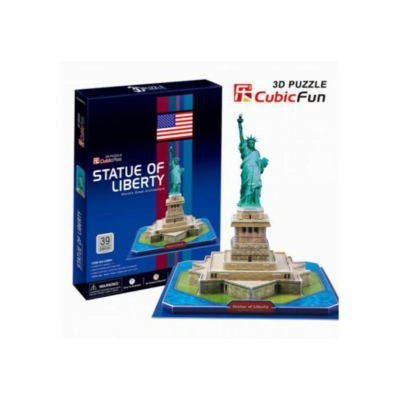 3D puzzle - Statue of Liberty (USA) 39 db-os