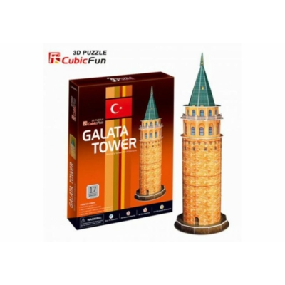 3D puzzle - Calata Tower 17db-os