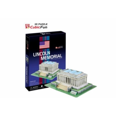 3D puzzle - Lincoln Memorial (USA) 41 db-os