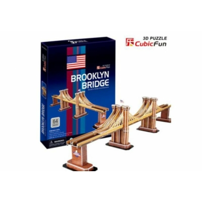 3D puzzle - Brooklyn bridge 64 db-os